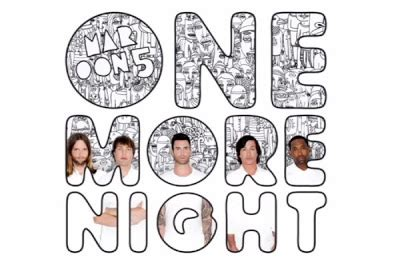 maroon 5 e chords chord gitar maroon 5 one more night lirik lagu dan