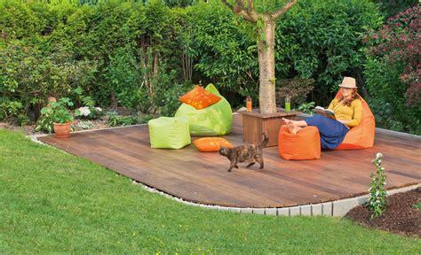 Terrasse Auf Rasen Bauen by Chill Out Terrasse Holzterrasse Selbst De