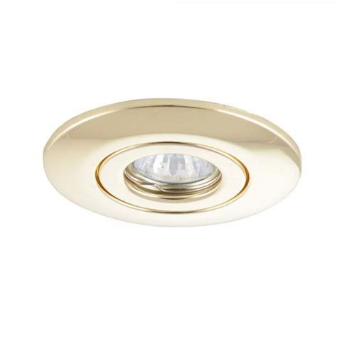recessed brass downlight conversion kit from litecraft