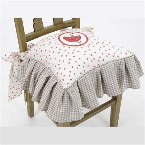 galette de chaise volantée 70 best coussins et galette de chaise images on