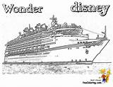 Coloring Ship Disney Cruise Pages Caribbean Royal Ships Cruises Vacation Colouring Sheets Boys Wonder Sketch Template Spectacular Yescoloring Printables Fun sketch template