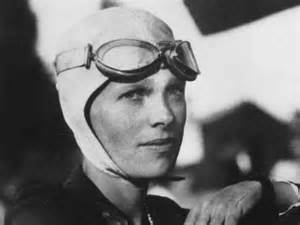 Image result for Amelia Earhart took off to fly solo across the Atlantic Ocean