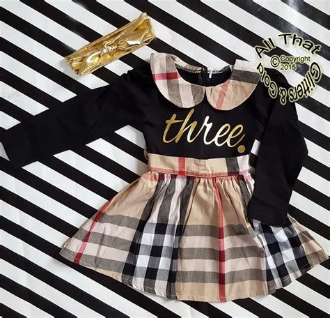 Gold Glitter 2nd 3rd Birthday Outfits For Girls Dresses