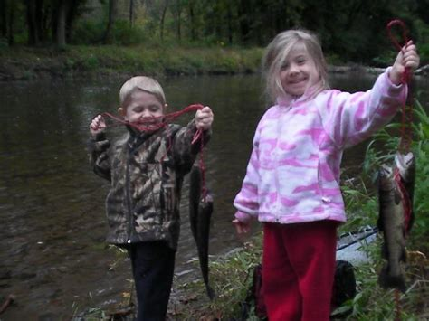 fish fishing were creek they lake wild very bug rainbow inches lower glow