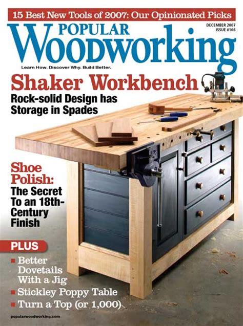 december   popular woodworking magazine