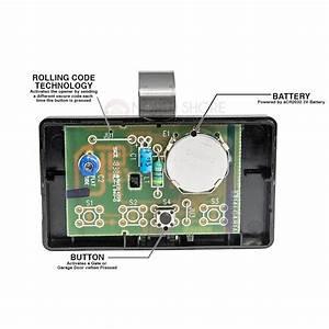 Access Master 971ac Garage Door Opener Remote