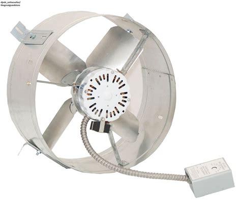 vent exhaust fan to attic attic gable fan electric exhaust vent ventilator quiet