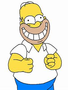 Super Smiley Homer! by Zoiby on DeviantArt