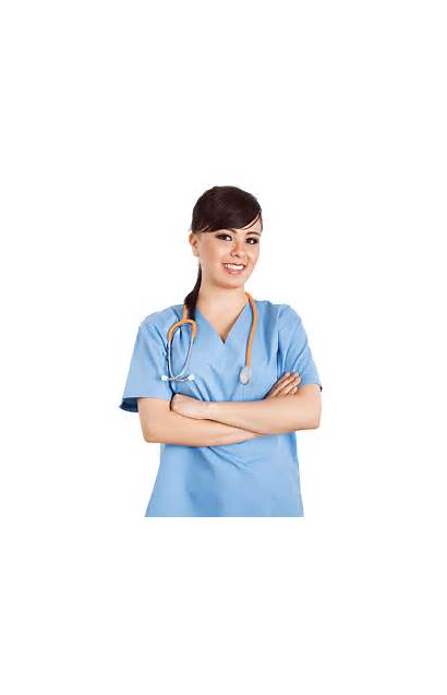 Nurse Nurses Clipart Transparent Arms Suna Line
