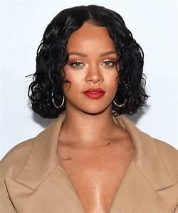 Rihanna's Shiny Curly Bob InStyle com