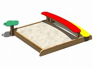 Bac à Sable Bois : bac sable en bois sabbiera coccinella by legnolandia ~ Premium-room.com Idées de Décoration