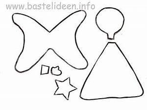 Vorlage Engel Zum Ausschneiden : kostenlose bastelvorlage engel ~ Lizthompson.info Haus und Dekorationen