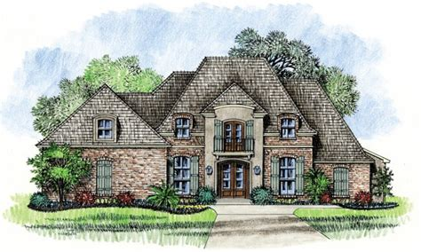 Country French House Plans With Porches  House Design Plans