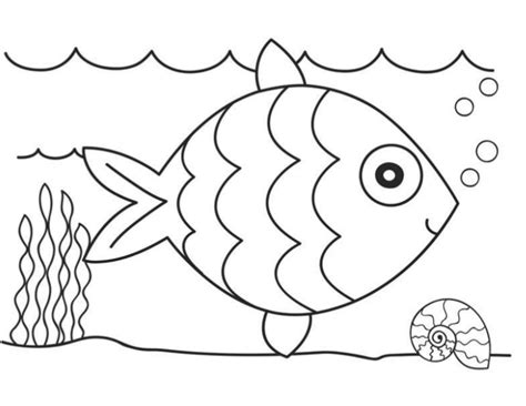 Coloring Gambar Ikan by Ikan New