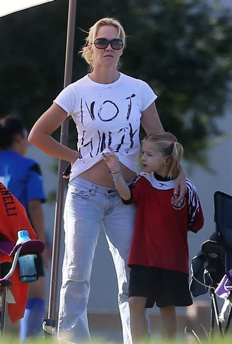 Soccer Mom Jennie Garth Supports Her Daughters On The