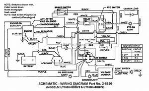 Snapper Lt160h42dbv2 42 U0026quot  16 Hp Hydro Drive Tractor Series D Parts Diagram For Electrical Schematic