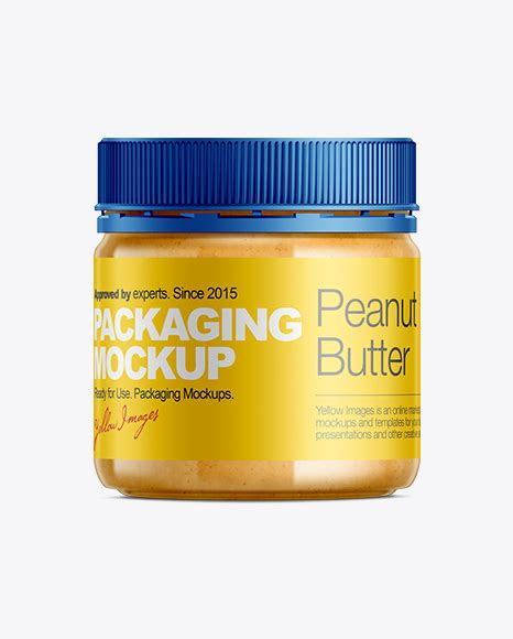 Get free money towards your purchases with creative market credits. Peanut Butter Mockup in Jar Mockups on Yellow Images ...