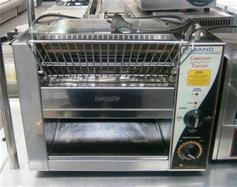 roband tcr15 conveyor toaster salamander commercial