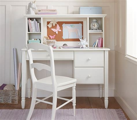 Childrens Desk With Storage by Madeline Storage Desk Hutch Pottery Barn