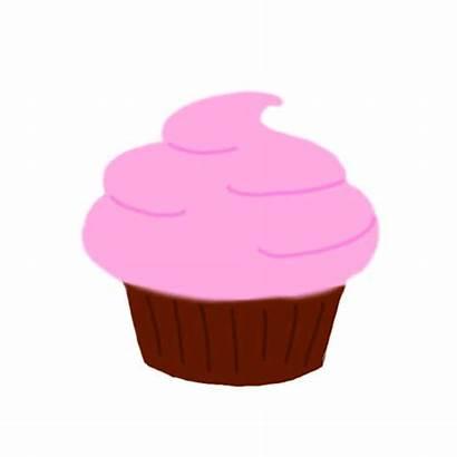 Cupcake Animation Cupcakes Pink Clipart Animated Birthday