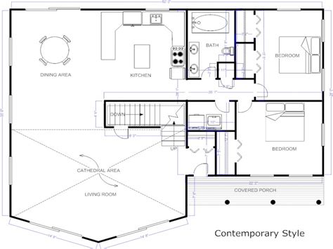 design your own floor plan modern house