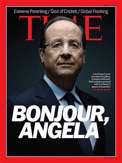 Magazine Covers Europe Angela French Hollande Bonjour