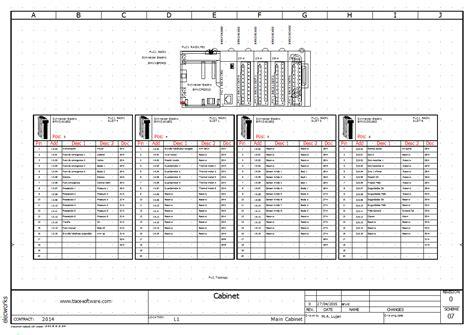 schema de cablage electrique elecworks