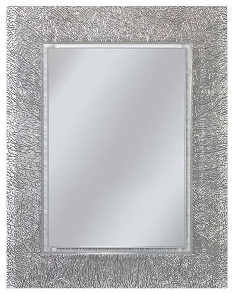 Rectangle Bathroom Mirrors by Coral Rectangle Mirror 22 Quot X28 Quot Modern Bathroom