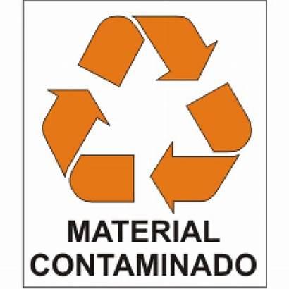 Contaminado Material Reciclagem Adesivo Produto Estoque Codigo