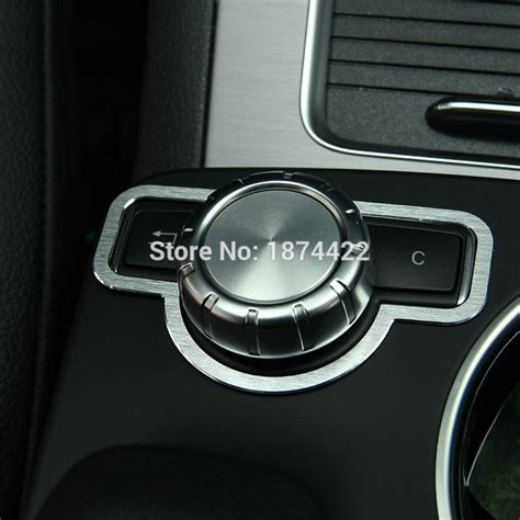 Buy cheap desktop accessories online from china today! Aliexpress.com : Buy Aluminum alloy Interior Medio Button Cover Trim For Mercedes Benz GLK X204 ...