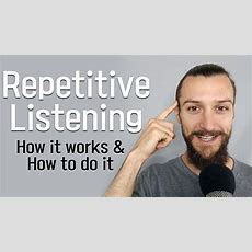 How To Use Repetitive Listening To Rapidly Improve Your Korean Listening Comprehension Youtube