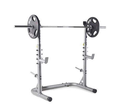 weider xrs  olympic workout squat rack spotter
