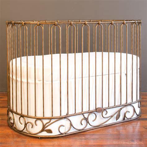 jadore crib cradle vintage gold