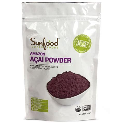 titan gel navitas organics organic acai powder 8 oz 227