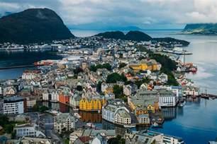Alesund Norway Art Nouveau