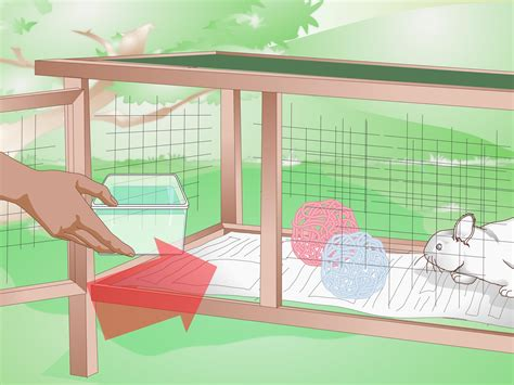 how to build a rabbit hutch with pictures how to build an outdoor rabbit cage 10 steps with pictures