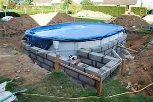 Piscine A Enterrer : piscine enterr e en acier ~ Zukunftsfamilie.com Idées de Décoration