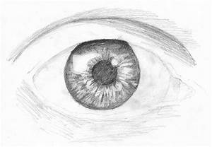 """Watch """"How to Draw an Eye"""" with Pencil - Step by Step *Video*"""
