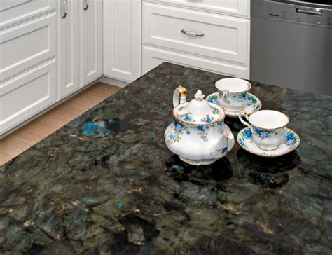Labradorite Blue River kitchen   Traditional   Kitchen