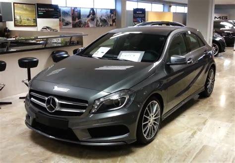 You'll get a longer powertrain warranty. Mercedes-Benz A class 2014 AMG in depth review Interior ...