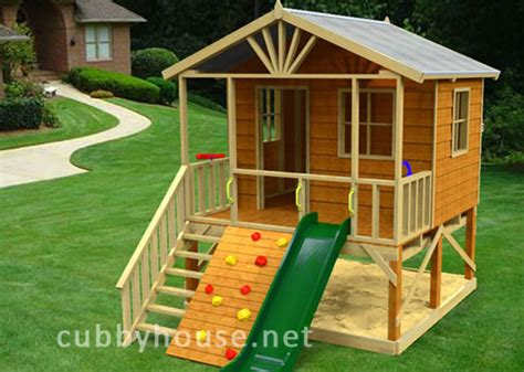 Wooden Cubby House Plans Pdf Woodworking