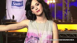 Katy Perry on Walmart Soundcheck: Tattoo - YouTube