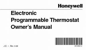 Electronic Programmable Thermostat Manuals