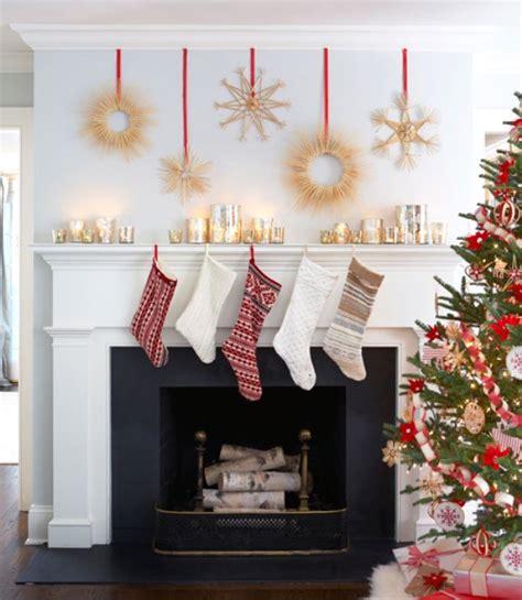 inspiring christmas fireplace mantel decoration ideas
