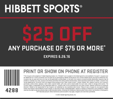 hibbett sports march  coupons  promo codes