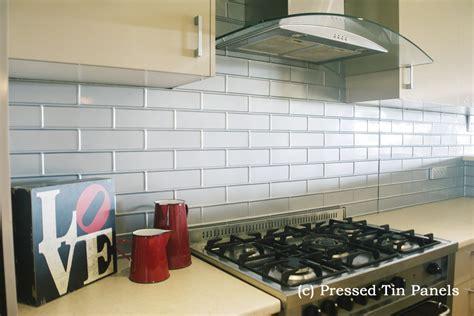 designer bathroom tile brick kitchen mercury silver splash back
