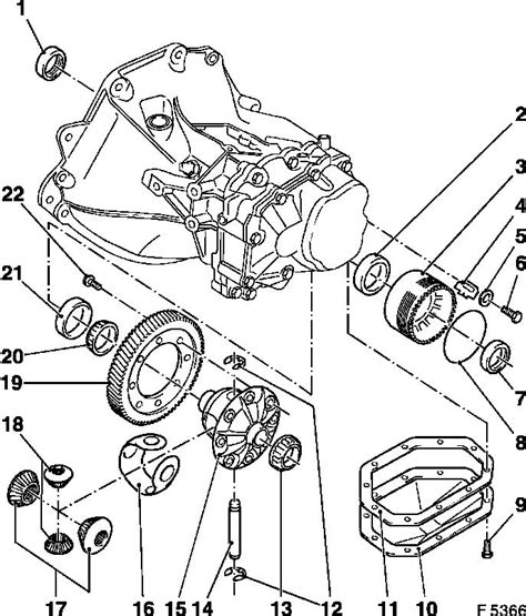 Vauxhall Transmission Diagram by Vauxhall Workshop Manuals Gt Astra F Gt K Clutch And