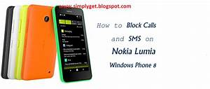 How To Block  U2013 Unblock Calls And Sms On Nokia Lumia