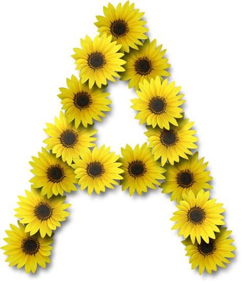 granny enchanteds blog  alphabets directory page  lettering alphabet sunflower