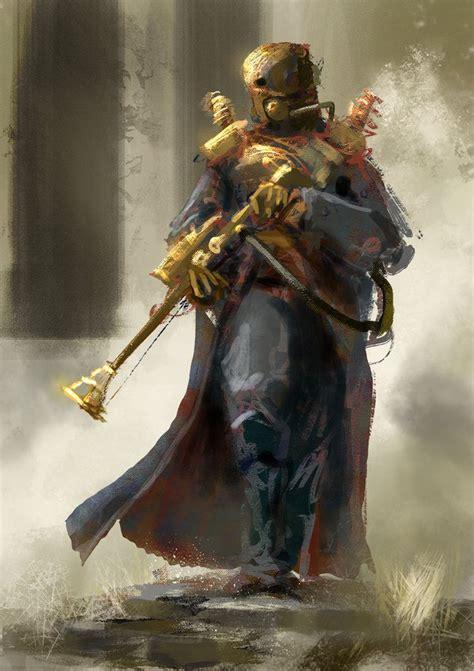 bounty hunter steampunk  conorburkeart  deviantart